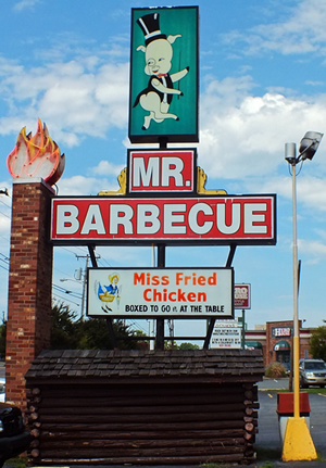 The Mr. Barbecue Sign